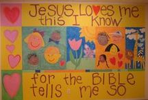 Children's Ministry / This board is filled with resources for Sunday & Wednesday School Teachers