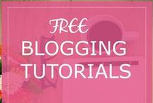 Free Blogging Tutorials / Here are my free blogging tutorials on how to get your blog organized and make your blog grow for success.  Blogger Tutorial #bloggertutorial