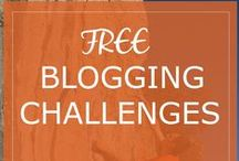 Free Blogging Challenges / Get yourself on a blogging challenge!  Fancy a 7 day 'get organized' challenge or a 7 day 'productivity sprint' challenge? More challenges getting added soon... #blogchallenge