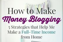 How To Make Money Blogging / Here are ideas to learn how to make money blogging from your blog. #makemoneyblogging
