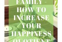 Happy Family - How to Increase Your Happiness Quotient / Happy Life I How to be Happy I How to find Happiness within You I Mind Mapping Happiness I Self Help