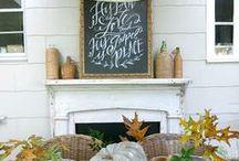 Rustic Fall Decor Inspiration / by Nina Hendrick | Everyday Enchanting