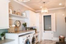 Laundry Rooms / Ideas, tutorials, and DIYs for your laundry room.