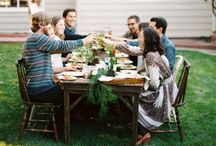 table/gather/holiday / by Cary Eaves Ray
