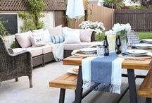 Decks & Patios / Amazing and beautiful outdoor retreats.  How to style your deck and patios.