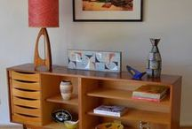 Home Furnishings / Mostly Mid-Century Modern Home decor / by Andreah Weitz