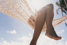 "Live in the Sunshine / ""Live in the sunshine, swim the sea, drink the wild air…"" ~Ralph Waldo Emerson  / by Shelley Hepler"
