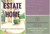 Sweethomeva Sold Homes / Homes listed and sold by Deliea Roebuck of Sweethomeva Real Estate. Looking to buy a house in Northern Va? Deliea has experience across the entire region. See the houses she's sold in Alexandria, VA,  Bristow, VA, Gainesville, VA, Great Falls, VA, Oakton, VA and across the region. Sweethomeva Real Estate combines old-fashioned values with today's best Internet marketing & social media strategies. We work smart to help clients buy or sell their 'sweet' Northern Virginia home.