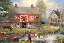 Barns and Country Places / by Suzanne Peirsel
