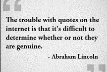 Quotes...Sayings...Etc / Funny, inspiring, truthful, eye-opening quotes and stuff that people write.