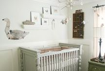 Gender Neutral Nursery Inspiration / Beautiful nursery ideas for boys and girls.