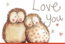 Valentine's Day / Show someone how much they mean to you with a heartfelt card from www.alexclarkart.co.uk