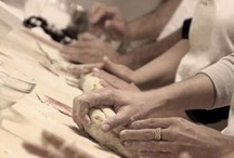 In Our Kitchens... / A peak at our hands-on cooking lessons and excursion throughout the 20 regions of Italy