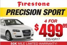 Fort Myers & Naples Tire Discounts / At Rick Johnson Auto & Tire, we carry only the top tire brands. Check out this board for monthly tire savings!