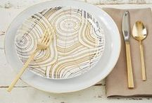 pretty plates and settings