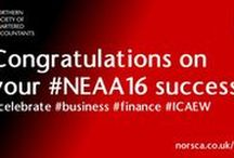 North East Accountancy Awards / Northern Society of Chartered Accountants and ICAEW are category sponsor of Large Firm of the Year. We have supported the Awards since their inception.