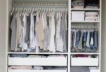 Closet / organização