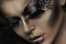 Fantasy makeup / Love bold fantasy looks, the more the better!