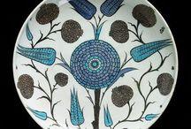Ceramiche toni blu / Piattini, ciotole, piastrelle ceramica