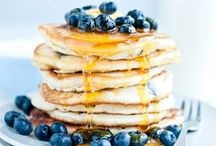 pancake recipes / these breakfast ideas are easy, healthy and/ or delicious and will make your morning a little better. fluffy pancakes recipes and sweet syrup are the best way to start your morning.