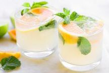 drink recipes / these drink and cocktail recipes are made to help you have a good time! from mojitos and margaritas to fresh fruit sangria, these alcoholic and non alcoholic beverages make entertaining easy!