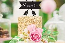 Wedding cakes / The most beautiful wedding cakes. Rustic, nude, vintage and lovely cakes.