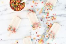 ice cream + popsicles / frozen and ice cream recipes perfect for summer baking! ice cream, frozen pies, popsicles and so much more.