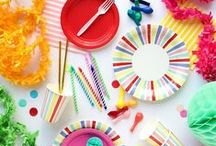 party ideas / inspiration for party planning and entertaining! these diy party ideas and festive and easy to make.