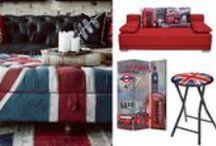 LONDON STYLE / Pohodový interiérový dizajn. Taký je LONDON STYLE. Patrí medzi obľúbené modne hity interiérového dizajnu. Vychádza z potreby vytvoriť aj na malom priestore pocit harmónie. Typickým znakom symbol anglické vlajky a jej farebné tóny. Inšpirujte sa vo SCONTO Nábytku