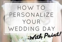 Personalize Your Wedding With Paint!