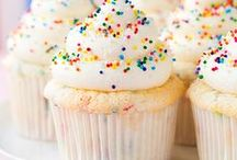 rainbow + sprinkle recipes / i love sprinkles on everything! cake, cupcakes, cookies, or even pancake recipes, this funfetti flavor is my go to for all birthdays. parties and showers.
