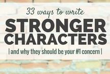 Writing Resources: Characters / Resources for #character names, types of characters, character motivation, and character development.