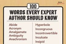 Writing Resources: Word Choice / Resources for picking the best words to use, descriptive words, words to describe emotions, etc.