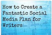 Authors & Social Media / Resources for ways authors and writers can use #social media to increase the visibility of their books. #socialmedia #marketing
