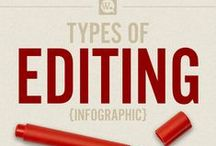 Writing Resources: Editing / Resources for editing your book; types of editing #editing