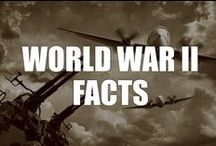 World War II Facts / Interesting facts about the Second World War, the most widespread conflict in history. Learn about causes, effects, statistics, history, and more.