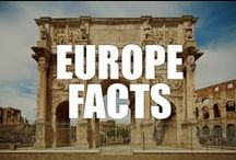 Europe Facts / Grab your passport and explore with us the beauty, the history, and the culture of Europe with our interesting Europe facts.