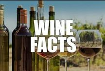 Wine Facts / From the exotic to the divine, learn about the  world's favorite fermented fruit with our delectable wine facts!