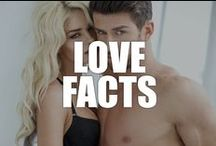 Love Facts / You'll fall head over heels with our top 10 facts about love.