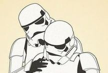Stjärnkrig / Everything that is related to Star Wars, crafts, DIY, posters, fanart.