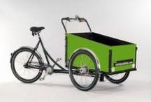 Triporteurs Christianiabikes / Différents modèles de triporteurs Christiania bikes