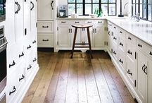 Custom Kitchen Inspiration / Masons'a Mill and Lumber Co. has all the material you need for elegant custom cabinets.