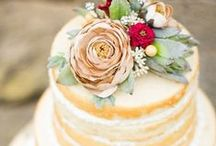 Let Them Eat Cake / Our Wedding Cakes are made by our incredible baker Rosie Hillbish