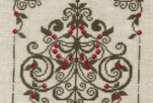 Christmas / Christmas decoration ideas (beads, cross stitch, ornaments, wreath, design...)
