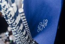 "Monograms / Adding the bride & groom's stamp to many aspects of the ""Big Day"" makes the celebration really personal. Here are some examples of how the bride & grooms' initials make an event exquisite."