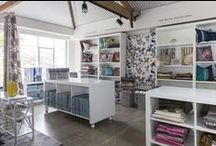 Radford Furnishings / A collaboration of a few of our different brand textiles and wall papers.