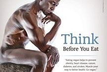 fitness and health; Go Vegan! / Vegan is the new sexy!