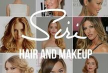 Wedding Hair and Makeup Inspiration / Hair and makeup inspiration for weddings.