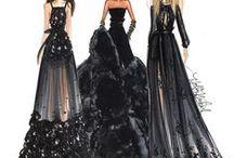 C R O Q U I S / Desenhos de moda.