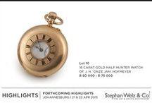 Highlights - Johannesburg April Auction.